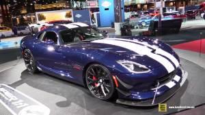 2016款道奇蝰蛇ACR 搭载8.4升V10引擎