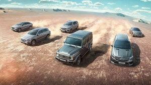 梅赛德斯-奔驰SUV征服之旅 强势出征