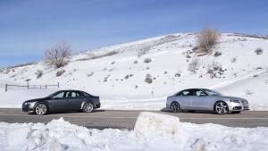 奥迪RS4对比同门兄弟S4 低调开战