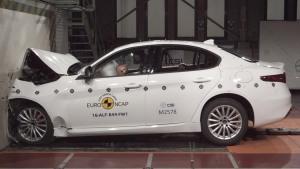 阿尔法·罗密欧Giulia E-NCAP碰撞测试