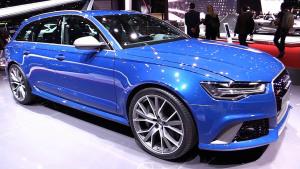2016款奥迪RS6性能版 外形设计更加激进
