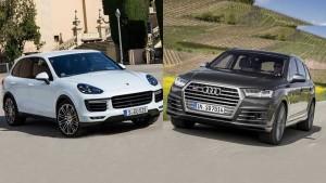 外媒评选五款高性能SUV 外观细节对比