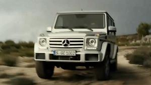 奔驰G级越野车 携手极地探险家挑战极限