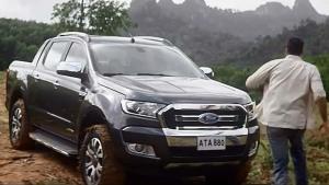 福特Ranger皮卡 拖拽能力3500公斤