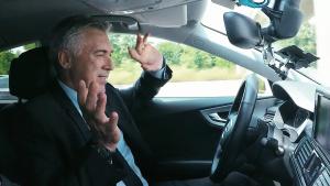 奥迪A7高速路大撒把 皇马安帅亲自测试