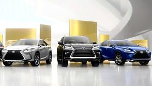 雷克萨斯混动SUV 传递环保正能量