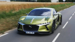 DS E-Tense概念车 超低重心电动怪兽