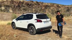 新款标致2008小型SUV 滑板达人旅行座驾