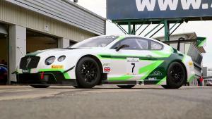 2016款宾利欧陆GT3 猛降底盘贴地跑赛道