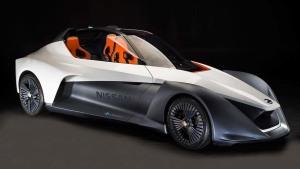 日产BladeGlider概念车 采用纯电动驱动