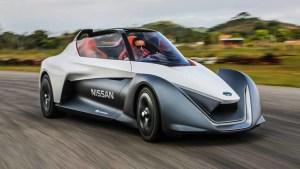 日产新BladeGlider概念车 造型科幻