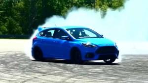 2016款福特福克斯RS 赛道狂飙烧胎漂移