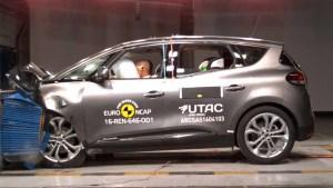 全新一代雷诺风景 E-NCAP碰撞测试