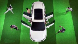 丰田全新汉兰达 车内空间超乎想像