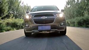 雪佛兰SUV最美中国行 草沿的天路