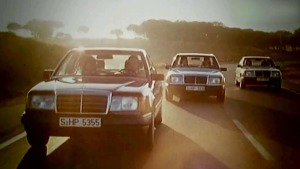 奔驰E级车豪华轿车 辉煌岁月传奇历史