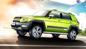 2016款北京BJ20紧凑型SUV 传承越野基因