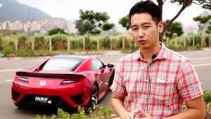试驾本田混动超跑NSX 极速达308km/h