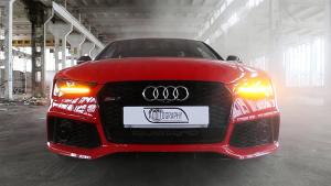 奥迪RS7性能版 动力输出达605马力