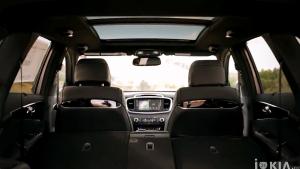2017款起亚索兰托中型SUV 内饰细节实拍
