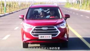 第三代江淮瑞风S3 提供安静的驾乘体验