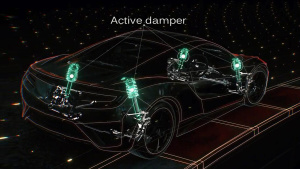 全新讴歌NSX技术详解 车身与底盘篇