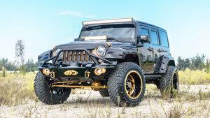 造型凶悍 改装版Jeep牧马人细节实拍