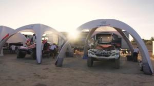 标致3008DKR两驱赛车 征战摩洛哥拉力赛