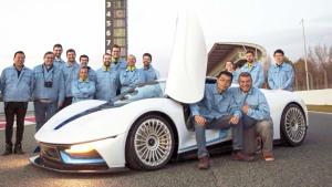 北汽新能源ARCFOX-7超跑 展示设计理念