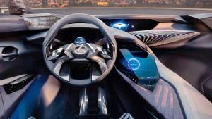 雷克萨斯UX概念车 中控台科技感十足
