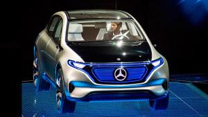 奔驰EQ电动概念车 定位运动型SUV