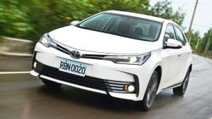 评测丰田卡罗拉Altis 增配6个安全气囊