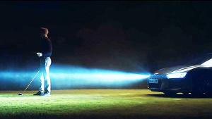 奥迪R8全新激光灯超跑 高尔夫之夜