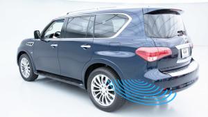新英菲尼迪QX80 倒车碰撞预防系统展示