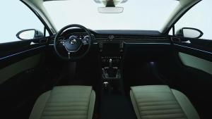 全新一代迈腾 配备26处车内氛围灯