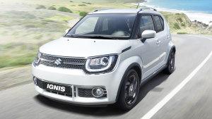 铃木IGNIS小型城市SUV 轴距达2435mm