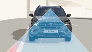 2017款福特翼虎 配备车道保持辅助系统
