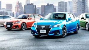 丰田全新皇冠日规版 搭载2.0T发动机