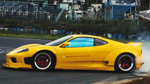 法拉利360 Modena 霸气漂移镜头合集