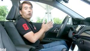 评测本田新雅阁混动版 乘坐空间舒适