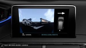 东风标致4008 配360度可视泊车辅助系统