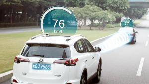 丰田全新RAV4荣放 主动安全技术展示