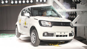铃木IGNIS小型SUV E-NCAP碰撞测试
