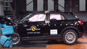 奥迪Q2豪华入门级SUV E-NCAP碰撞测试
