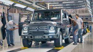 2017款奔驰G级越野车 生产车间深度探秘