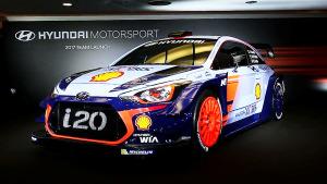 2017现代车队 打造i20 WRC赛车