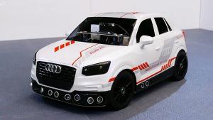 奥迪Q2自动驾驶模型车 不愁找车位