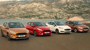 全新福特嘉年华 提供四种车身造型