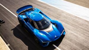 蔚来EP9顶级电动超跑 最大功率1360马力