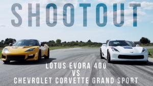 科尔维特Grand Sport 对战路特斯Evora